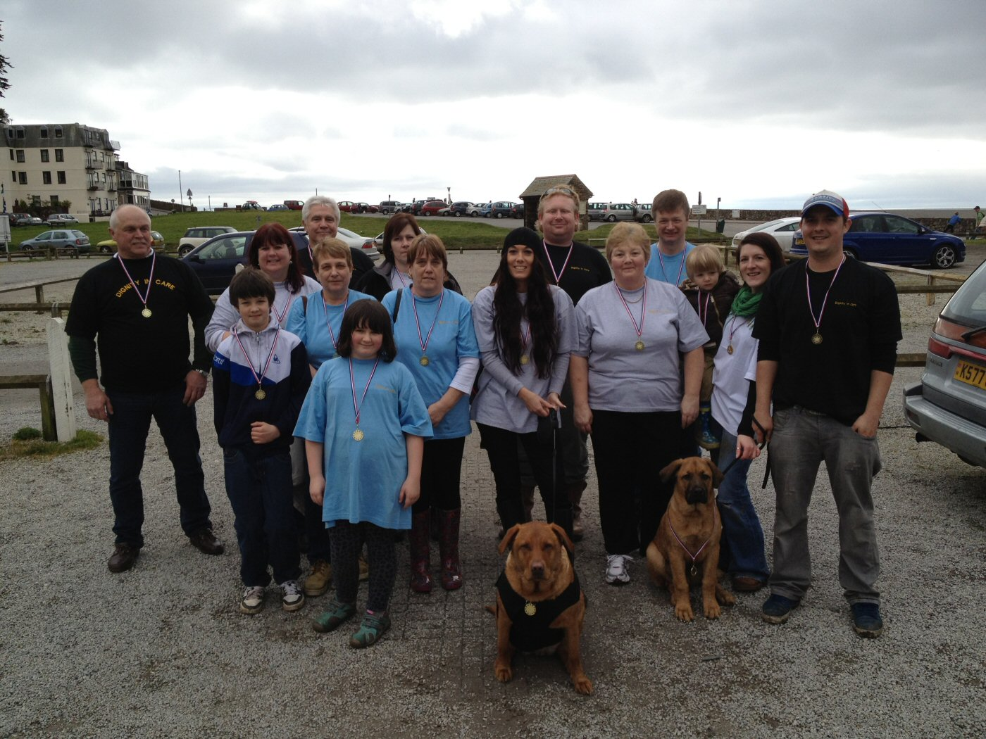 Seaton walk charity